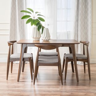 Millie 5 Piece Mid Century Dining Set