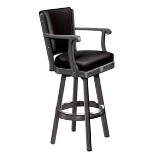 Jack Daniel's 30.25 Swivel Bar Stool (Set of 2) by Jack Daniel's Lifestyle Products
