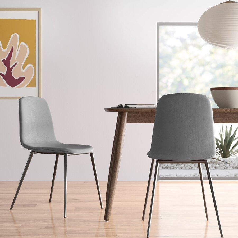 Larissa Velvet Upholstered Side Chair