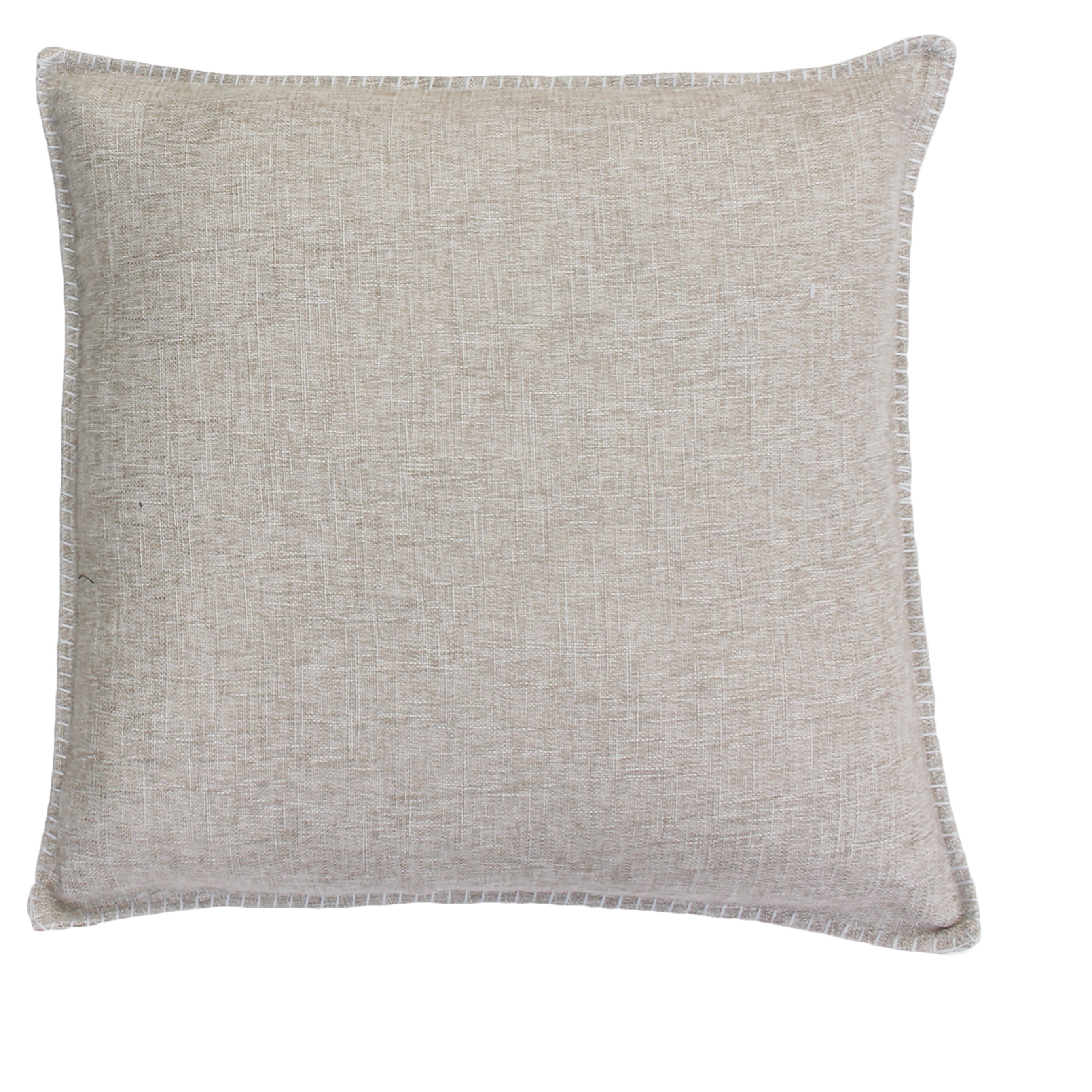 Hearth /& Hand Black /& White Tweed Throw Pillow Whipstiched Edge Accent Cushion
