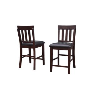 Mee Wood Dining Chair (Set of 2) by Red Barrel Studio
