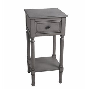 Dunia End Table by Highland Dunes