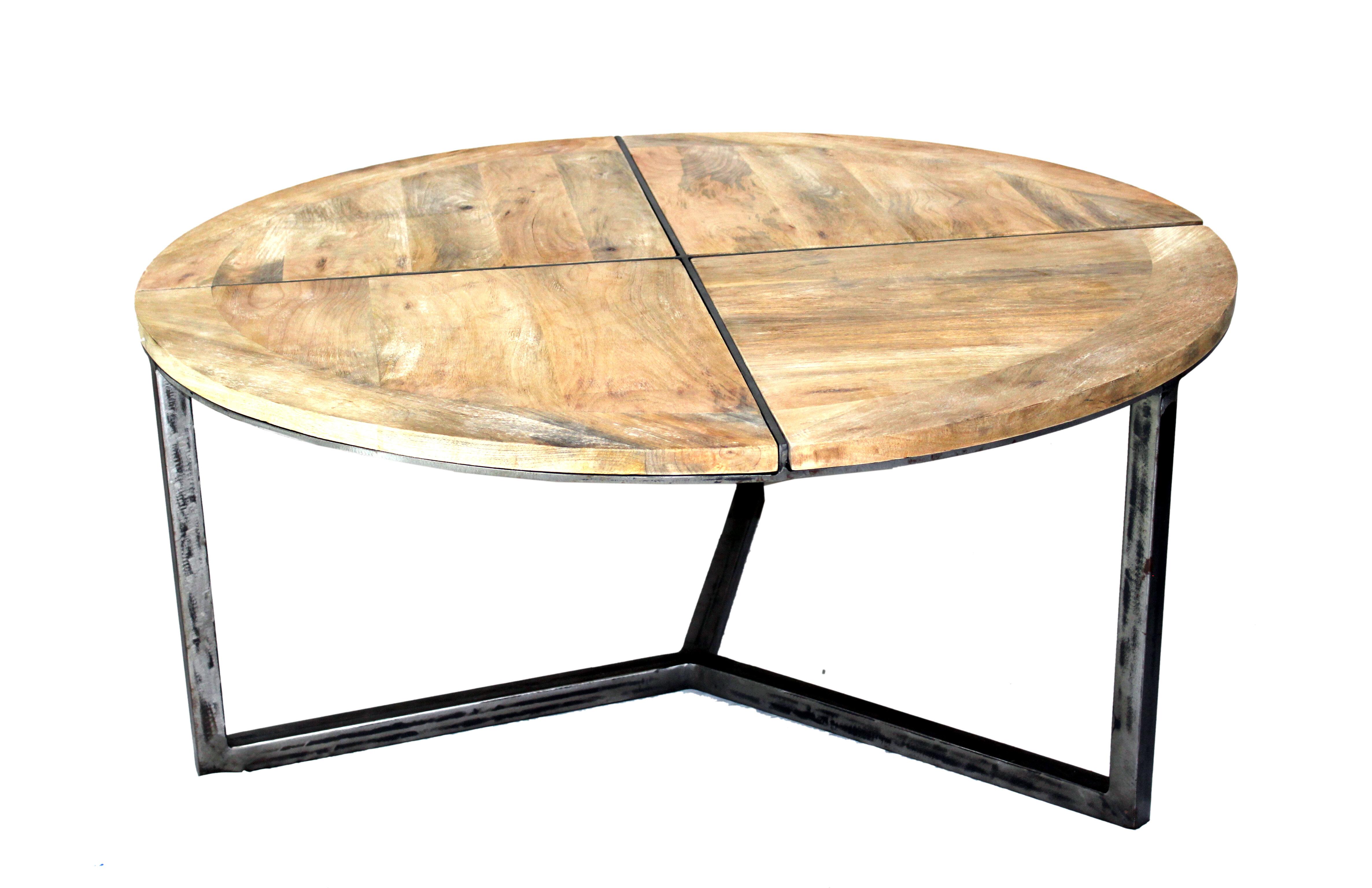 - Loon Peak Asbury Distressed Coffee Table Wayfair