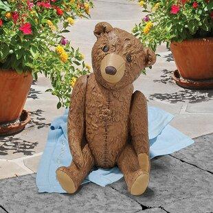 Design Toscano The President's Teddy Bear Statue