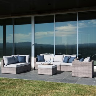 Joshua 7 Piece Sectional Set with Cushions by Brayden Studio