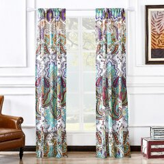 Teal Tiebacks Holdbacks Included Curtains Drapes You Ll Love In 2021 Wayfair