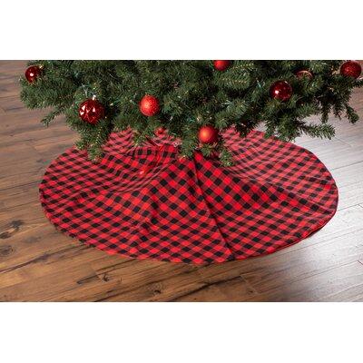 Santa and Snowman Holiday Tree Skirt