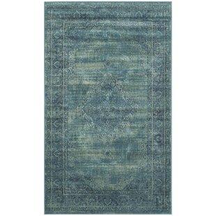 Teppiche In Blau Hauptmuster Orientalisch Wayfair De