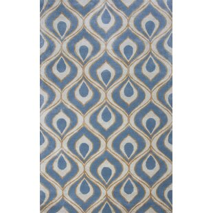 Bob Mackie Home Blue Eye Of The Peacock Area Rug by Bob Mackie Home by KAS Rugs