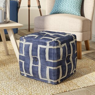 Soren Pouf by Beachcrest H..