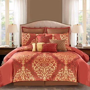 Blomquist 10 Piece Comforter Set by Astoria Grand