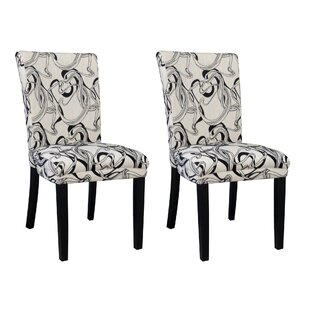 Chintaly Imports Misty Parson Chair (Set of 2)