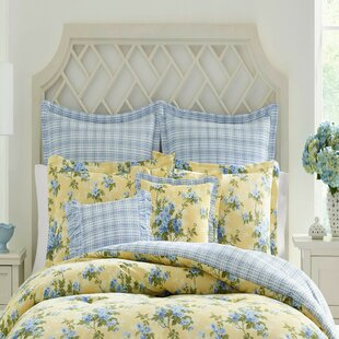Laura Ashley Home Cassidy Cotton Reversible Comforter Set by Laura Ashley Home