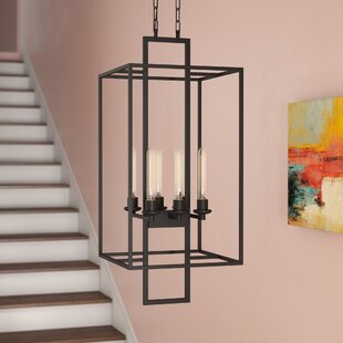 Borkowski 6-Light Square/Rectangle Chandelier