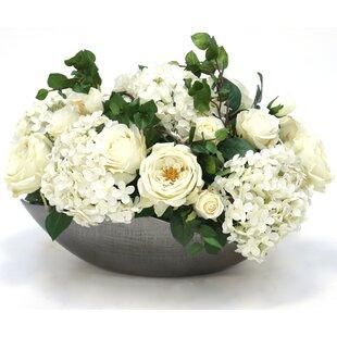 Mixed Floral Arrangement in Decorative Pot