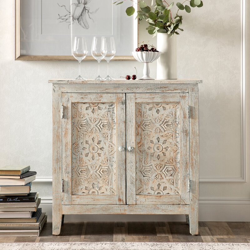 Bell 2 Door Accent Cabinet by Kelly Clarkson Home