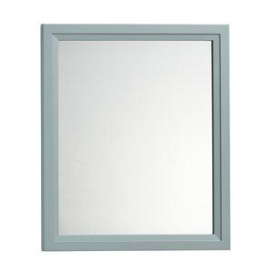 Solid Wood Framed Bathroom Mirror In Ocean Gray Part 45