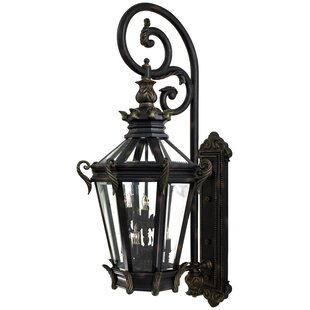 Stratford Hall 9-Light Outdoor Wall Lantern by Great Outdoors by Minka