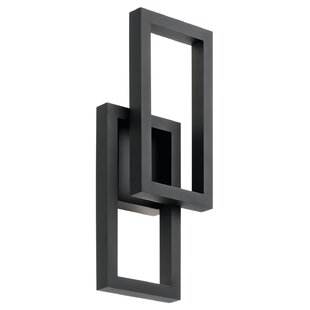 Gulley LED Outdoor Sconce by Brayden Studio