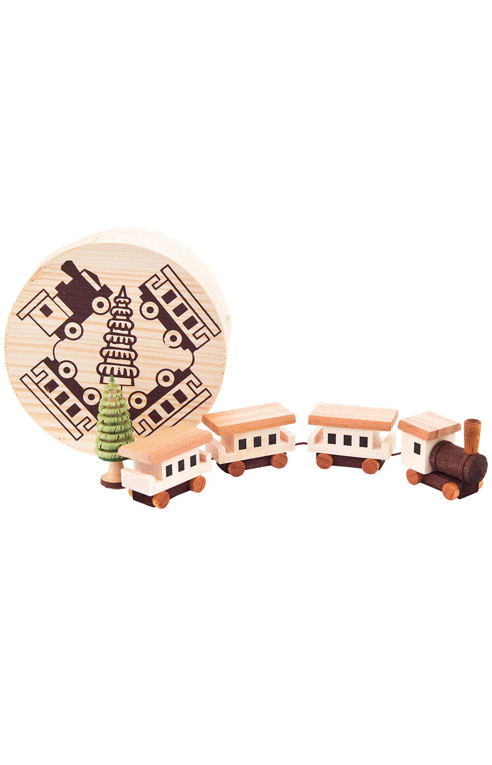 The Holiday Aisle Dregeno 3 Piece Train Chip Box Set Wayfair