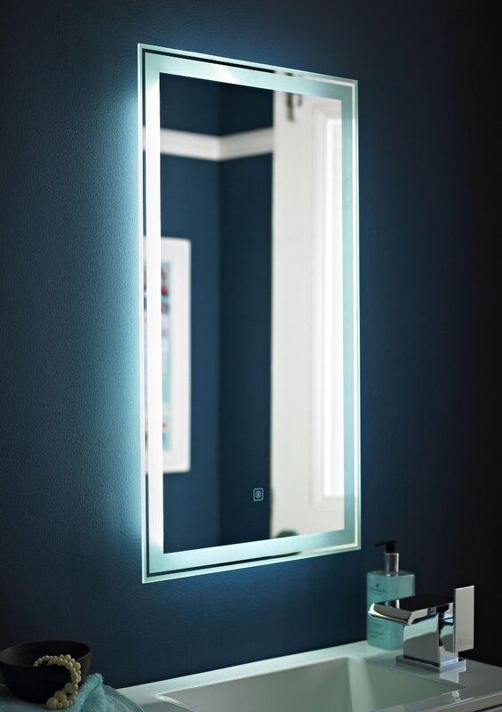 Premier Touch Sensor BathroomVanity Mirror Reviews Wayfaircouk