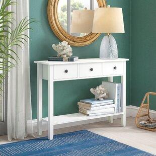 Sensational Clairview 3 Drawer Console Table Machost Co Dining Chair Design Ideas Machostcouk