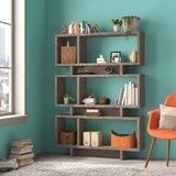 Cullison Geometric Bookcase by Brayden Studio®