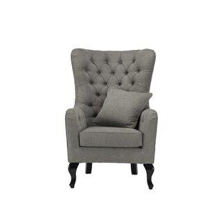 Regency Wingback Chair Grey