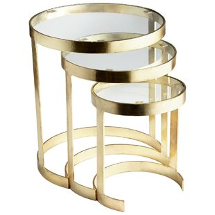 Cyan Design Terzina 3 Piece Nesting Tables