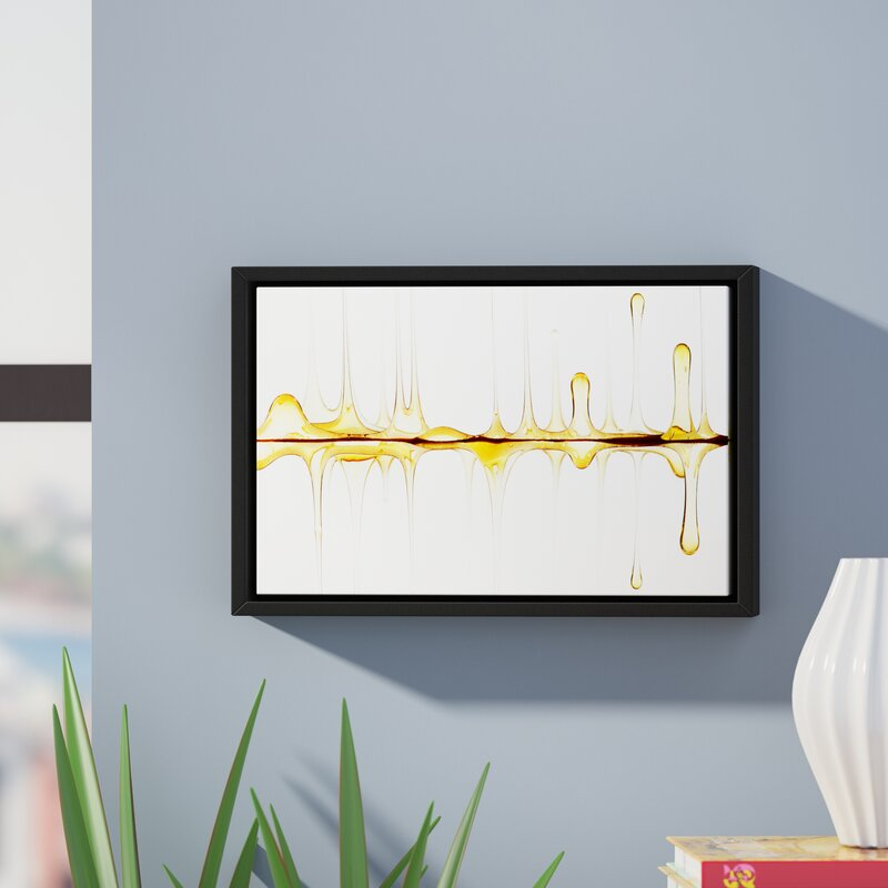 Ebern Designs Sweet Sound Of Your Voice Framed Painting Print On Wrapped Canvas Reviews Wayfair