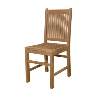 Anderson Teak Saratoga Teak Patio Dining Chair
