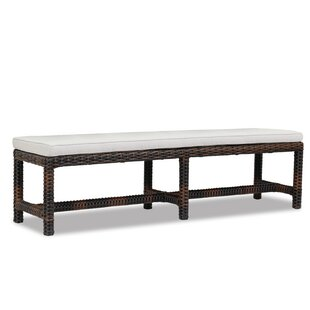 Montecito Wicker Picnic Bench