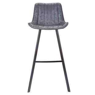Gilder Fabric 31.5 Bar Stool (Set of 2) Williston Forge