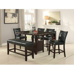 Upper Strode 6 Piece Dining Set