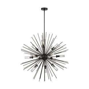 Anderson Mill 12-Light Outdoor Chandelier by Brayden Studio