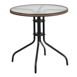 Gingerich Glass Bistro Table