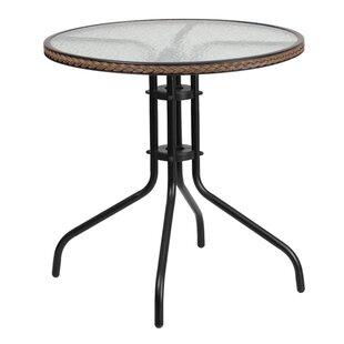 Gingerich Round Bistro Table by Ebern Designs 2019 Sale