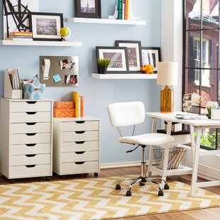 Riley 5 Drawer Halifax Mobile Cabinet by Zipcode Design