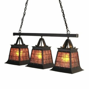 Steel Partners Top Ridge 3-Light Kitchen Island Pendant