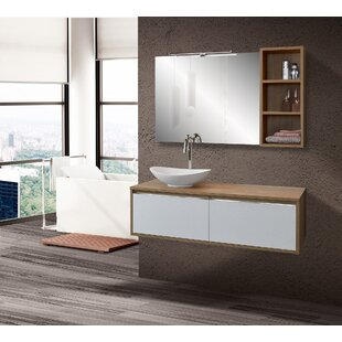 Gianna 1200mm Wall Hung Single Vanity Unit By Isabelline