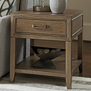 Cypress Point End Table with Storage
