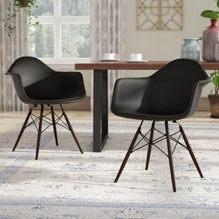 Harrison Contemporary Solid Wood Dining Chair (Set of 2) by Langley Street