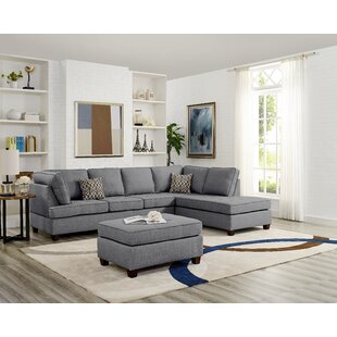 Felisa Reversible Sectional with Ottoman