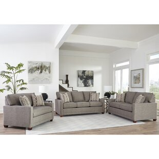 Nedra 3 Piece Sleeper Living Room Set by Brayden Studio