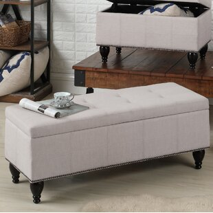 Charlton Home Darrah Upholstered Storage ..