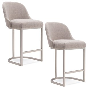 Affordable Hambleton Bar Stool (Set of 2) by Ivy Bronx