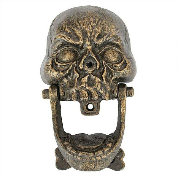 - Design Toscano Skull Door Knocker Wayfair