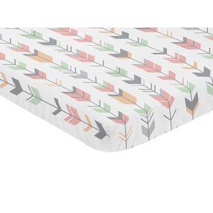 Bargain Mod Arrow Fitted Mini Crib Sheet BySweet Jojo Designs