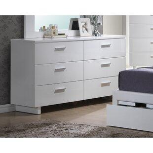 Branchville 6 Drawer Double Dresser by A&J Homes Studio Purchase