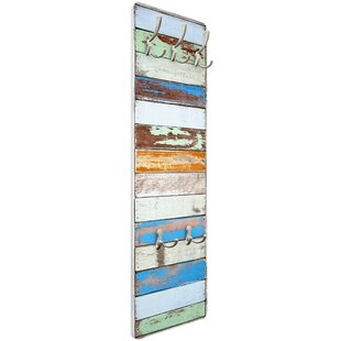 Shelves Of The Sea Vintage Wall Mounted Coat Rack By Beachcrest Home
